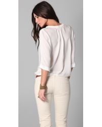 Joie | White Marru Top | Lyst