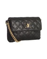 Marc Jacobs - Black Single Quilted Leather Shoulder Bag - Lyst
