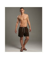 Vilebrequin | Chocolate Brown Moorea Swim Trunks for Men | Lyst