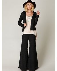 Free People | Black Fp Extreme Knit Flare | Lyst