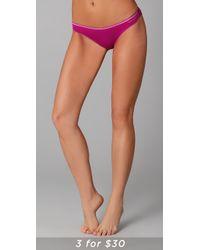Calvin Klein - Pink Naked Glamour Bikini Briefs - Lyst