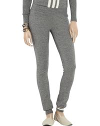 Y-3   Gray Cashmere and Silk-blend Track Pants   Lyst