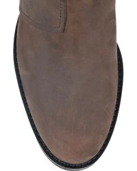 Acne Studios - Brown Pistol Leather Boots - Lyst