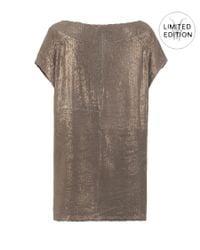 AllSaints   Metallic Daye Dress   Lyst