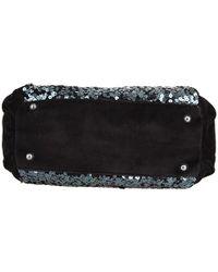 Juicy Couture - Black Star Shine Sequin Velour Shoulder Bag - Lyst