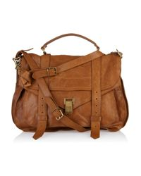Proenza Schouler   Brown Ps1 Medium Leather Tote   Lyst