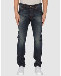 Raf Simons | Blue Raf By Raf Simons - Denim Pants for Men | Lyst