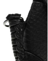 ASOS Collection - Black Asos Fetish Clutch - Lyst