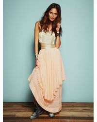 Free People | Pink Kristals Limited Edition Party Dress | Lyst