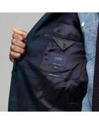 J.Crew | Blue Black Watch Sportcoat in Ludlow Fit for Men | Lyst