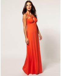 Seafolly | Pink Gladiator Maxi Dress | Lyst