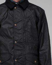 Filson - Black Cover Cloth Weekender Coat for Men - Lyst