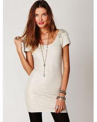 Free People | White Bringing Sexy Back Dress | Lyst