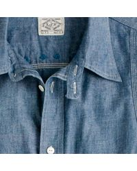 J.Crew | Blue E-workers/k&th Manufacturing. Co. Workshirt for Men | Lyst
