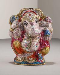 Judith Leiber | Metallic Ganesh Collectors Minaudiere | Lyst