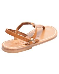 K. Jacques | Cyrus Sandal in Natural | Lyst