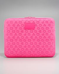 Marc By Marc Jacobs | Pink Pretty Neoprene Laptop Sleeve, 15 | Lyst