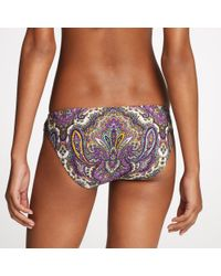 J.Crew | Purple Royal Paisley Bikini | Lyst