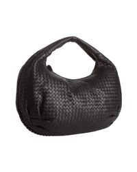 Bottega Veneta | Green Tourmaline Intrecciato Leather Belly Veneta Hobo | Lyst