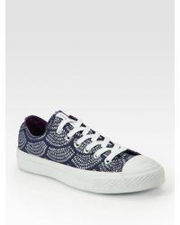 Converse | Blue Marimekko Chuck Taylor Printed Sneakers | Lyst