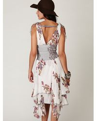 Free People - White Fp One Wisteria and Lattice Dress - Lyst