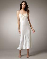 La Perla | White Maison Long Satin Gown | Lyst