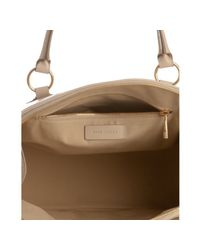 Marc Jacobs - Natural Ivory Goatskin Large Wellington Satchel - Lyst