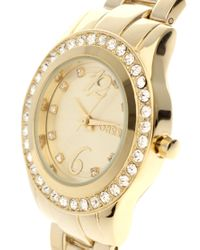 Oasis - Metallic Gold Plated Bracelet Watch - Lyst