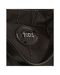 Tod's | Black Nylon G-line Easy Tote | Lyst