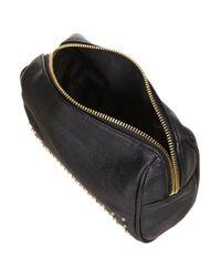 TOPSHOP - Black Stud Make Up Bag - Lyst