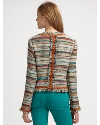 Tory Burch - Multicolor Abigail Jacket - Lyst