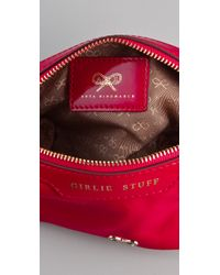 Anya Hindmarch - Red Girlie Stuff Cosmetic Bag - Lyst
