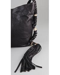 CC SKYE - Black Malibu Canyon Braided Cross Body Bag - Lyst