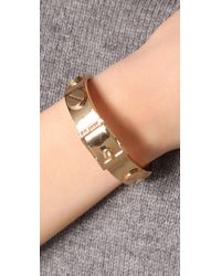 CC SKYE - Metallic Metal Screw Bracelet - Lyst