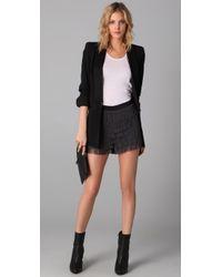 Club Monaco - Black Nina Tux Blazer - Lyst