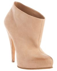 Givenchy | Beige Ankle Booties | Lyst