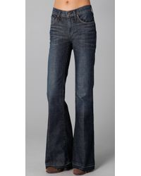 James Jeans | Blue Disco 70s Super Flare Jeans | Lyst