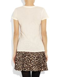 James Perse - Pink Loose-fit Cotton-jersey T-shirt - Lyst