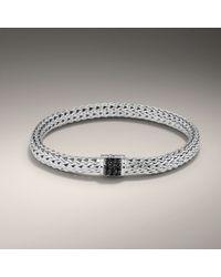 John Hardy | Black Small Bracelet | Lyst