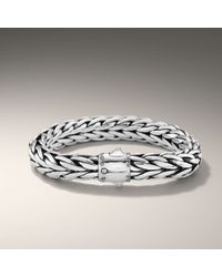 John Hardy | Metallic Extra Large Oval Bracelet for Men | Lyst