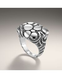 John Hardy | Metallic Pillow Ring | Lyst