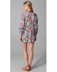 Joie - Blue A La Plage Luka Tunic Cover Up - Lyst