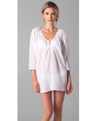 Joie - White A La Plage Celesta Tunic Cover Up - Lyst