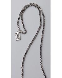 Low Luv by Erin Wasson - Metallic Hammered Crescent Moon Pendant Necklace - Lyst