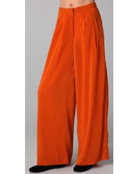 MINKPINK | Orange Marrakech Flare Pants | Lyst