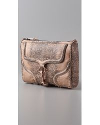 Rebecca Minkoff | Brown Bombe Mac Clutch | Lyst