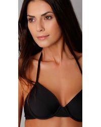 Splendid | Black Bayside Solid Underwire Bikini Top | Lyst