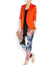 Stella McCartney - Multicolor Hawaiian-print Silk Pants - Lyst