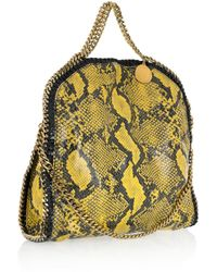 Stella McCartney   Black Falabella Triple Handle Bag   Lyst