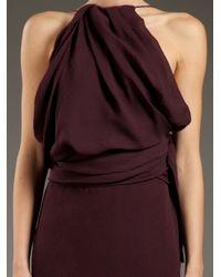 Acne Studios - Purple Ethel Crepe Dress - Lyst